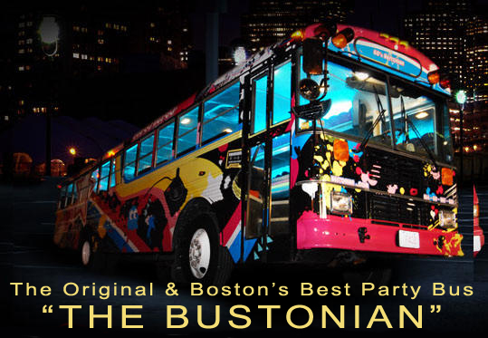 GET ON THE BUS - The BUSTONIAN! CLICK HERE - Boston Bachelorette Parties